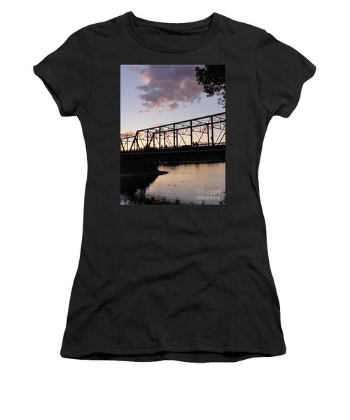Bridge Scenes August - 1 Women's T-Shirt (Athletic Fit)
