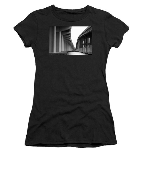 Bridge To Nowhere Women's T-Shirt (Athletic Fit)