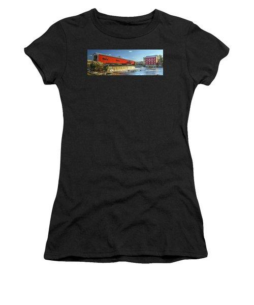 Bridgeton Bridge And Mill Women's T-Shirt