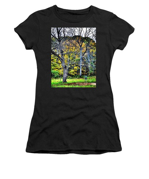 Bright Darkness Women's T-Shirt (Athletic Fit)