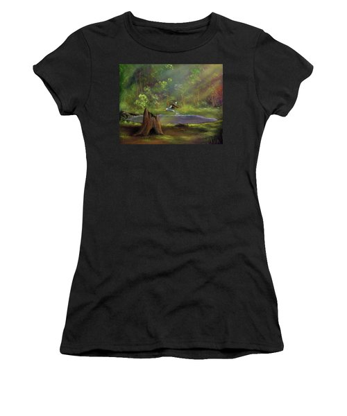 Brightening Women's T-Shirt (Athletic Fit)