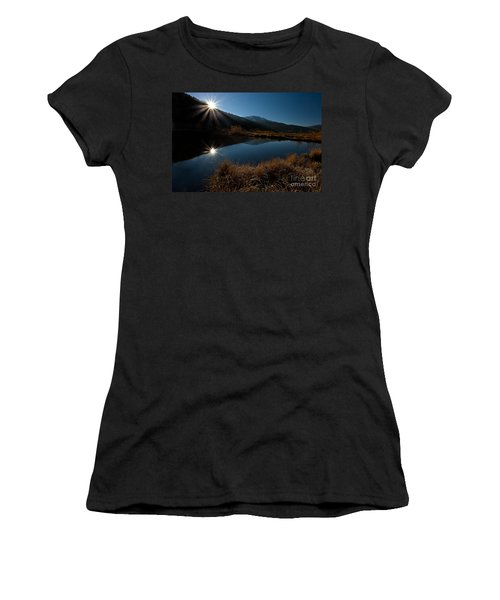 Brilliant Sunrise Women's T-Shirt (Athletic Fit)