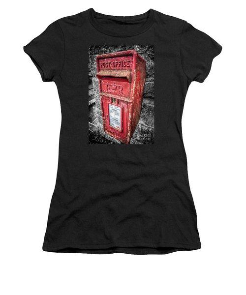British Post Box Women's T-Shirt