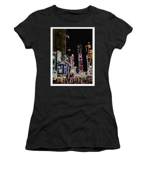 Broadway Women's T-Shirt (Athletic Fit)
