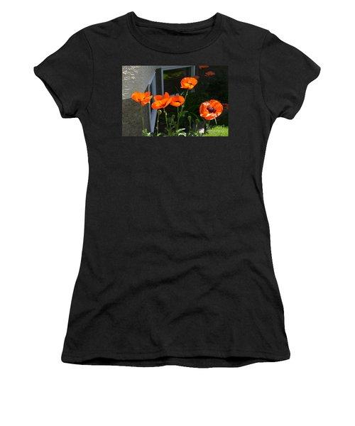 Broken Line Women's T-Shirt (Athletic Fit)