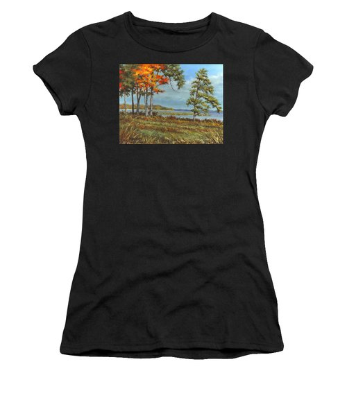 Browns Bay Women's T-Shirt (Athletic Fit)