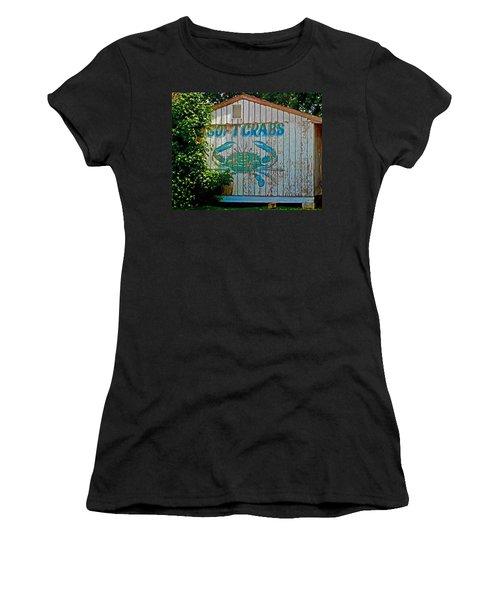 Buckroe Crab Shack Women's T-Shirt