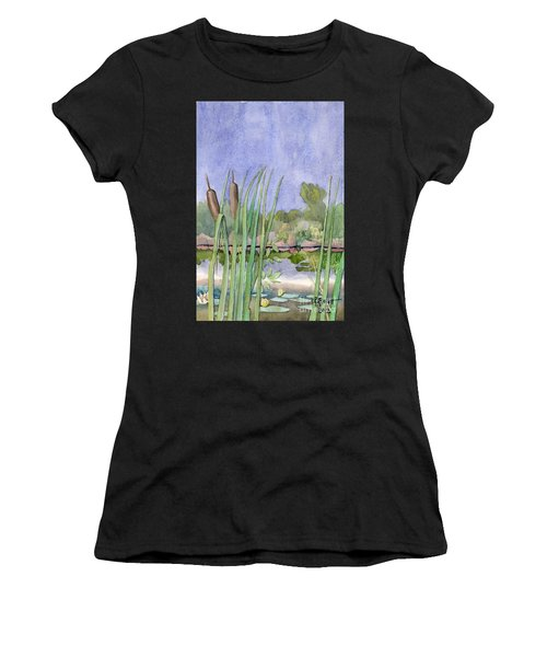 Bullrushes Women's T-Shirt (Athletic Fit)