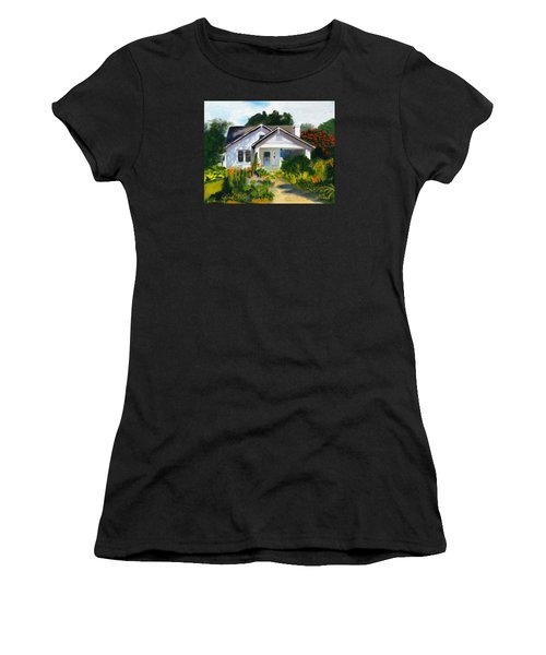 Bungalow In Sunlight Women's T-Shirt