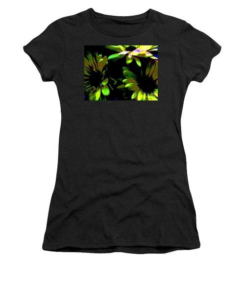 Women's T-Shirt (Junior Cut) featuring the photograph Burst by Greg Patzer