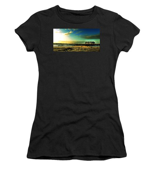 Women's T-Shirt (Junior Cut) featuring the photograph Busselton Jetty by Yew Kwang