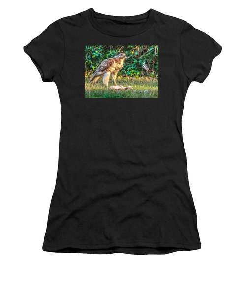 Buteo Jamaicensis Women's T-Shirt (Athletic Fit)