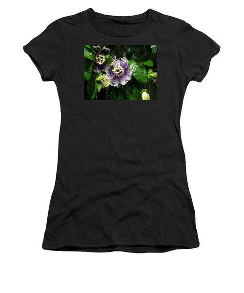 Women's T-Shirt (Junior Cut) featuring the photograph Byron Beauty by Ron Davidson