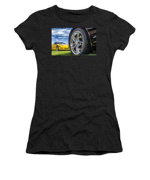 C Sixes Women's T-Shirt (Junior Cut) by Gary Warnimont