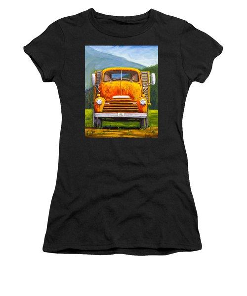 Cabover Truck Women's T-Shirt