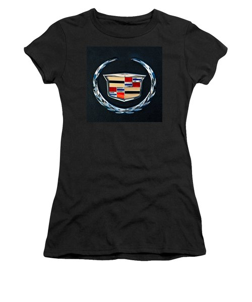 Cadillac Emblem Women's T-Shirt (Athletic Fit)