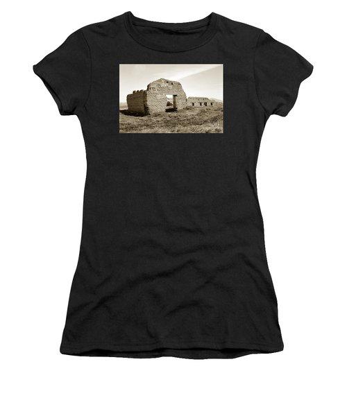 Soledad  California Mission  Monterey Co. Circa 1900 Women's T-Shirt (Athletic Fit)