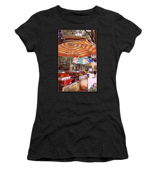 Women's T-Shirt (Junior Cut) featuring the photograph California Oranges by Miriam Danar