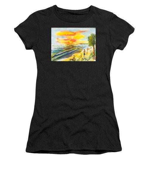 California Sunset Women's T-Shirt