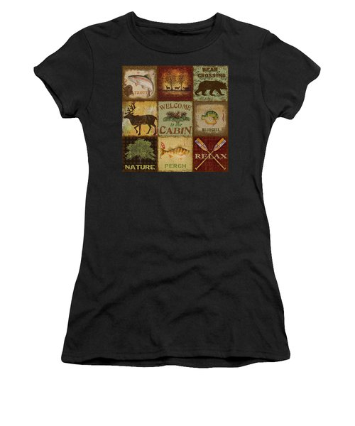 Call Of The Wilderness Women's T-Shirt (Athletic Fit)