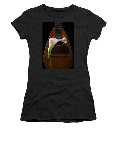 Calla Lily And Mandolin Women's T-Shirt
