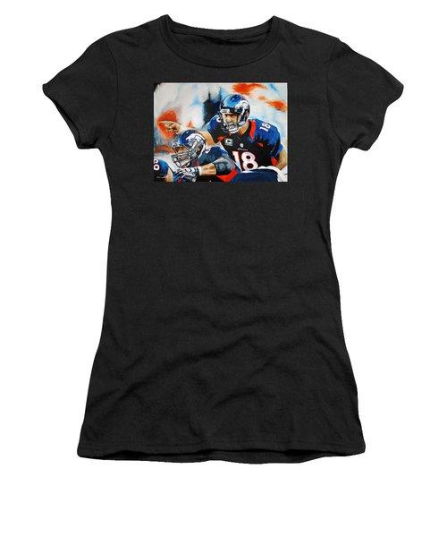 Peyton Manning Women's T-Shirt (Athletic Fit)