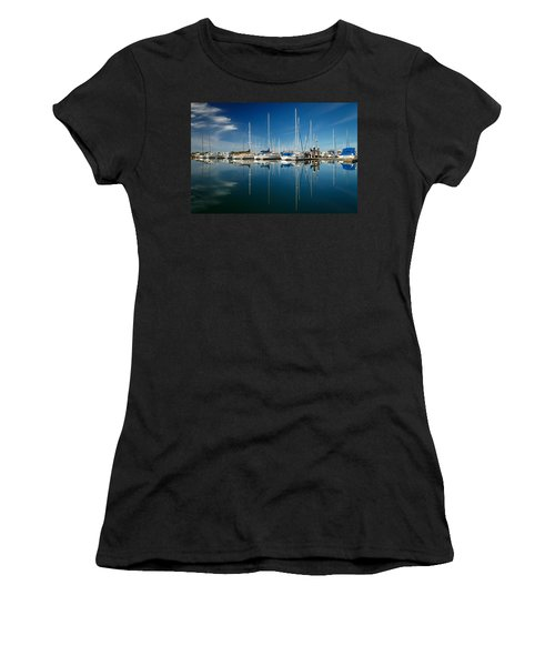 Calm Masts Women's T-Shirt (Athletic Fit)