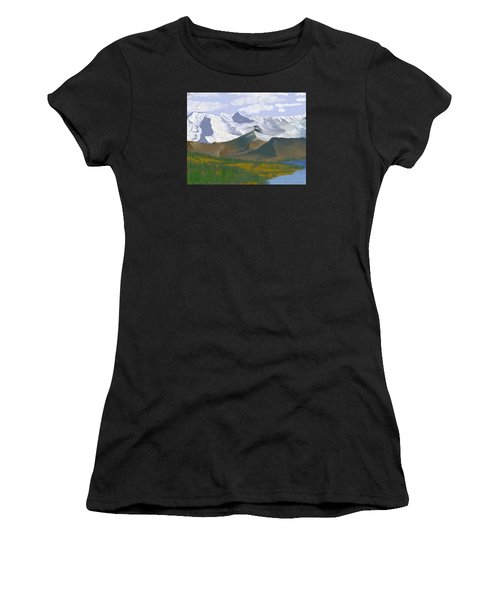 Canadian Rockies Women's T-Shirt (Athletic Fit)