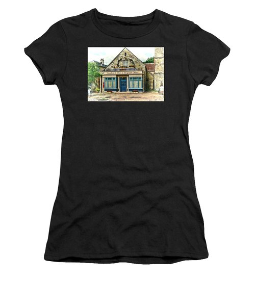 Women's T-Shirt featuring the photograph Candleford Post Office by Paul Gulliver