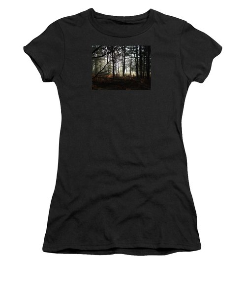 Women's T-Shirt (Junior Cut) featuring the photograph Cannock Chase by Jean Walker