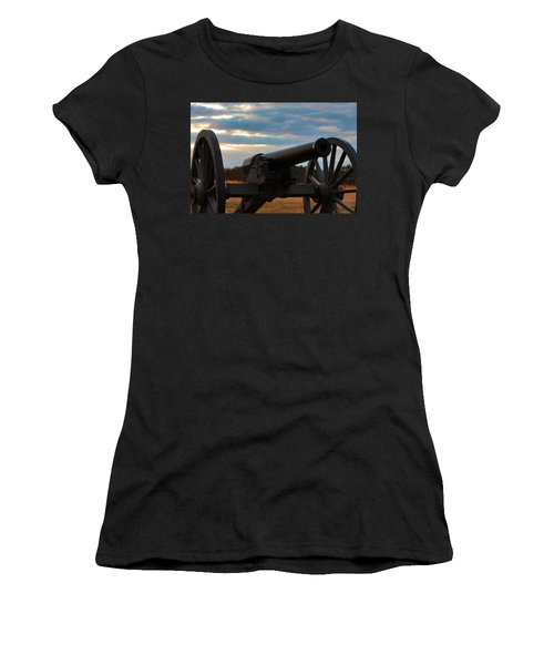 Cannon Of Manassas Battlefield Women's T-Shirt (Athletic Fit)