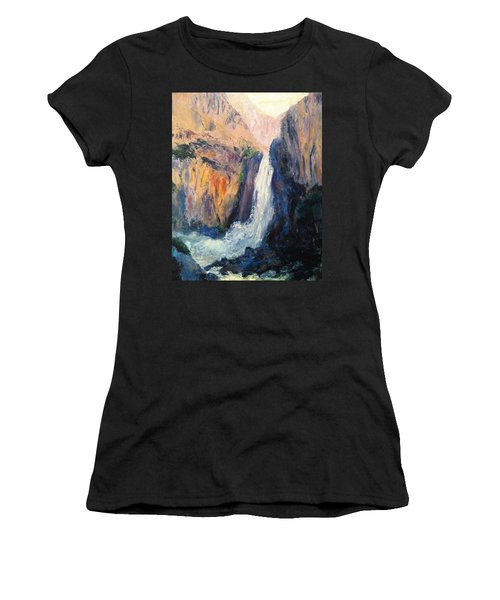 Canyon Blues Women's T-Shirt (Athletic Fit)