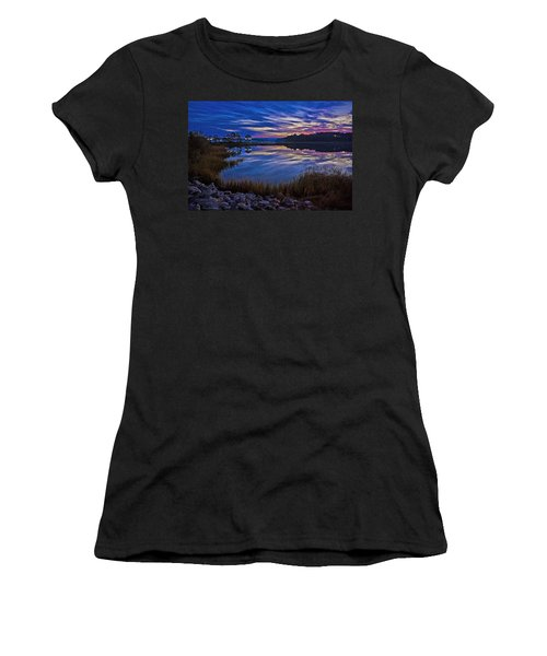 Cape Charles Sunrise Women's T-Shirt (Athletic Fit)