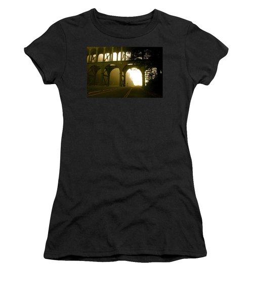 Cape Creek Bridge Women's T-Shirt