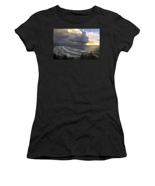 Sunset At Cape Lookout Oregon Coast Women's T-Shirt