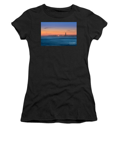 Cape May Lighthouse Sunset Women's T-Shirt (Athletic Fit)