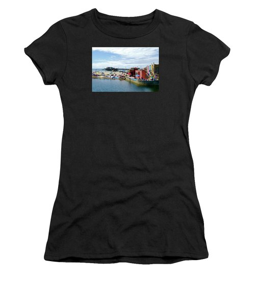 Capitola Begonia Festival Weekend Women's T-Shirt (Junior Cut) by Amelia Racca
