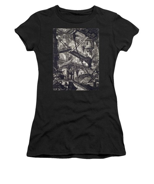 Carceri Vii Women's T-Shirt (Athletic Fit)