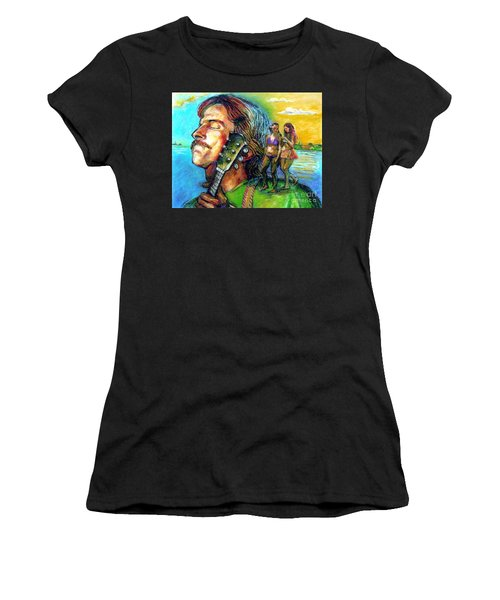 Carolina On My Mind Women's T-Shirt (Athletic Fit)