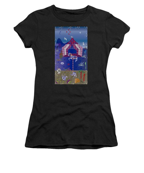Carousel  Women's T-Shirt (Athletic Fit)