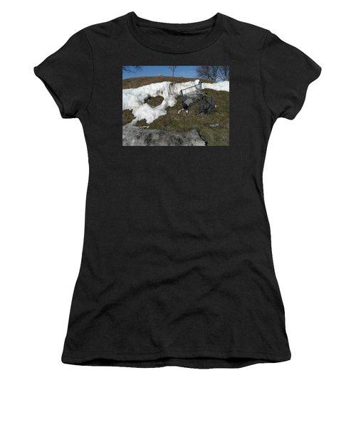 Cart Art No. 19 Women's T-Shirt (Athletic Fit)