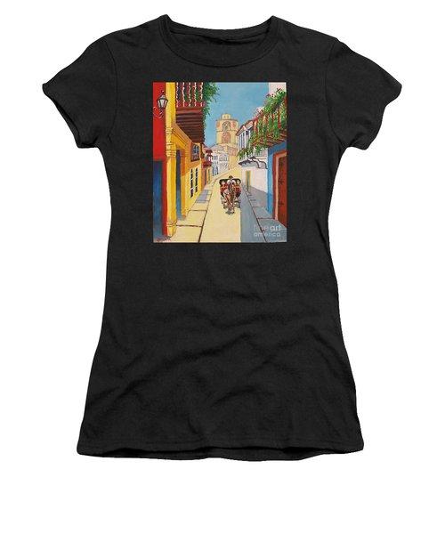 Cartagena's Calash Women's T-Shirt (Athletic Fit)