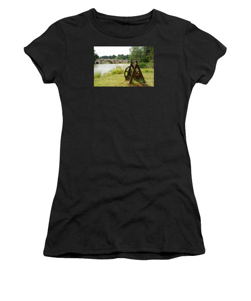 Cast Into The Future Women's T-Shirt (Athletic Fit)