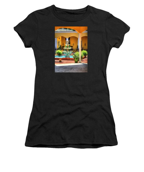 Casual Dinning. Women's T-Shirt (Athletic Fit)