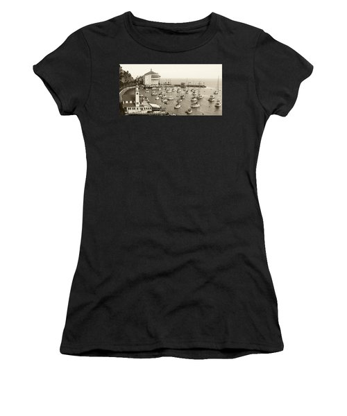 Catalina Island. Avalon Women's T-Shirt (Athletic Fit)
