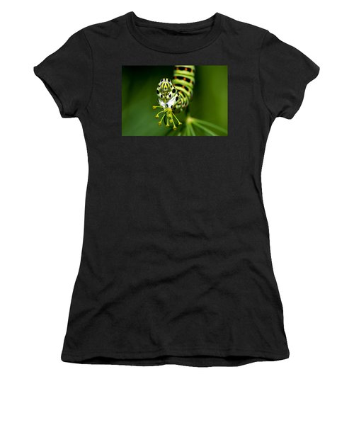 Caterpillar Of The Old World Swallowtail Women's T-Shirt (Athletic Fit)