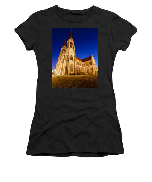 Morning At The Cathedral Of St Helena Women's T-Shirt (Athletic Fit)