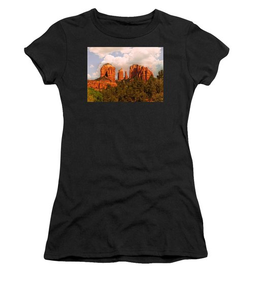 Cathedral Rock Sunset Women's T-Shirt