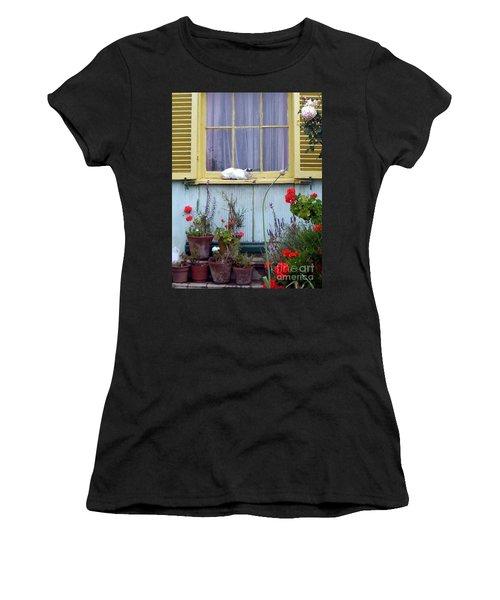 Catnap Women's T-Shirt (Athletic Fit)