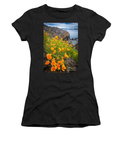 Cattle Point Poppies Women's T-Shirt